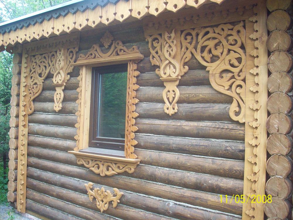 Украшения деревянного дома своими руками 401