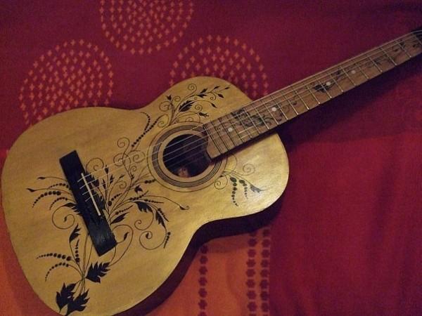 Как сделать на гитаре рисунок - Zerli.ru