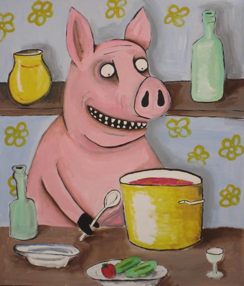 Свинья и Борщ