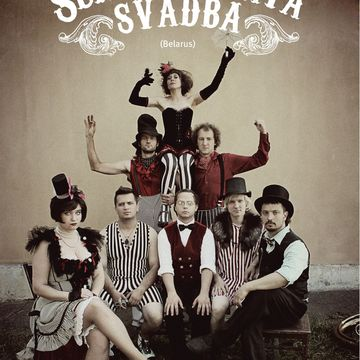 "Poster Photosession cabaret band ""Silver Wedding"""