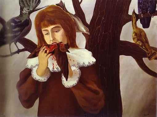 Девочка, поедающая птицу (Удовольствие).jpg