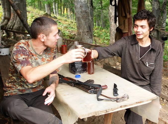 Обычный абхазский завтрак