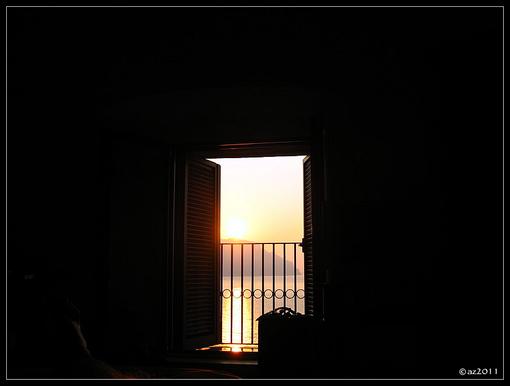 рассвет в Амальфи.