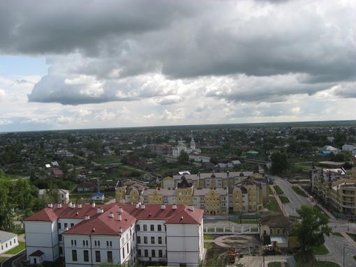 Тобольск  с площадки кремля