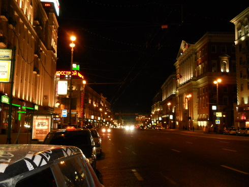 улицы москвы фото