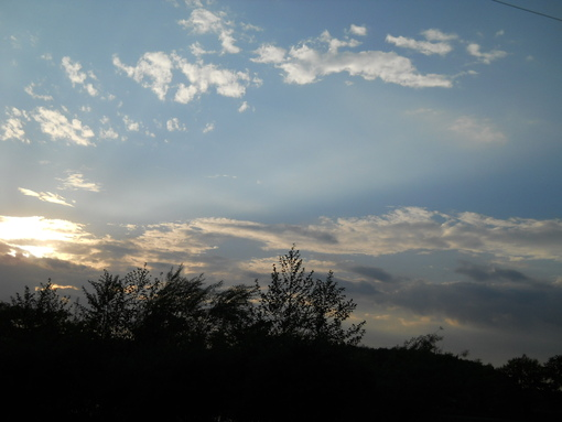 Мысли о небе.