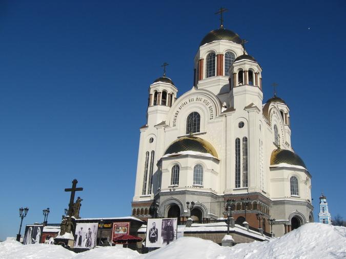 Храм на Крови,Екатеринбург.
