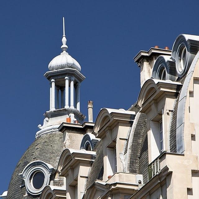 Небо Парижа. Башенка в Латинском квартале
