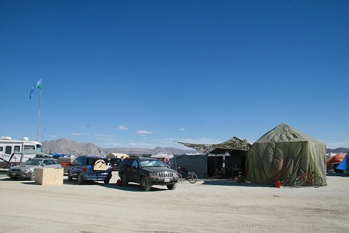 Camp, Black Rock City, Nevada
