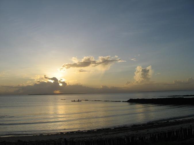 Восход солнц..
