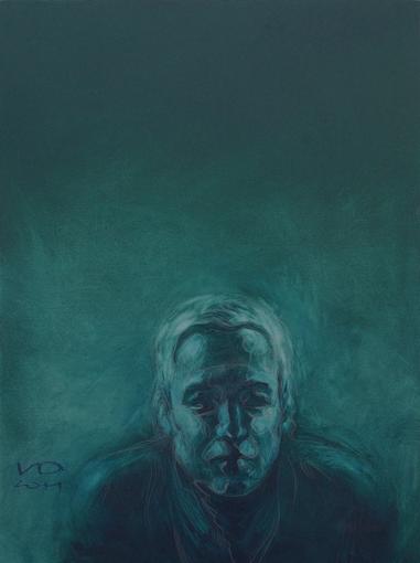 """Изображение Кэндис. Портрет для выставки """"Кэндис Брайтс: ТЫ+Я"""". 2011. 80х60 см."""