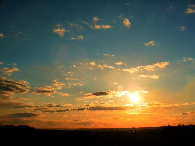 Закат 18.04.2012