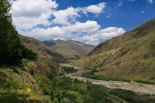 Река Кара-Койсу