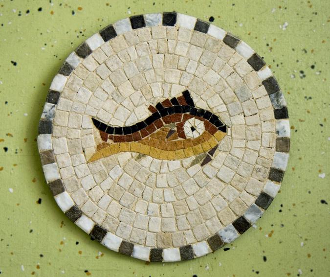 Рыба. Мозаика