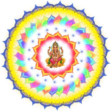 Ganesha mandalas