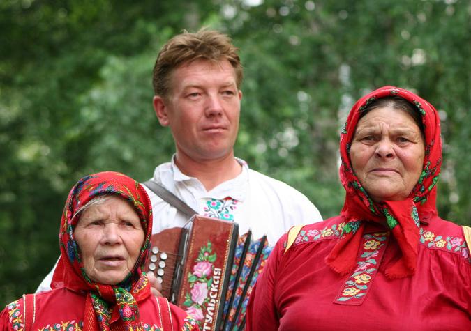 коми-пермяки из деревни Кукушка