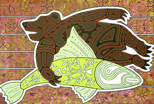 свадьба рыбы и медведя, Павел Микушев (КОМИ)
