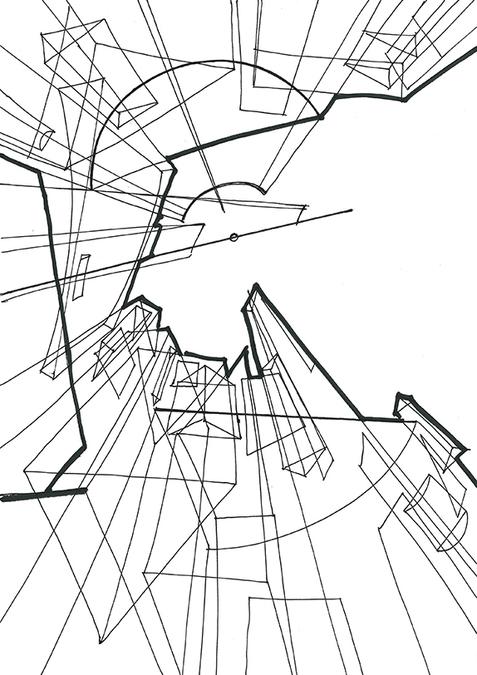 04 Линии разной толщины. Объёмы в пространстве