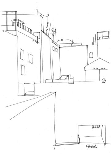 07 Линейный набросок. Город