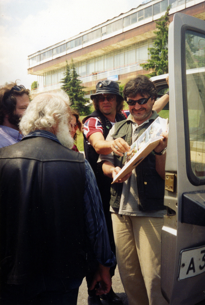у автобуса
