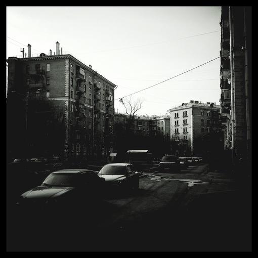 Двор. Третья Песчаная улица (A third Sandy street)