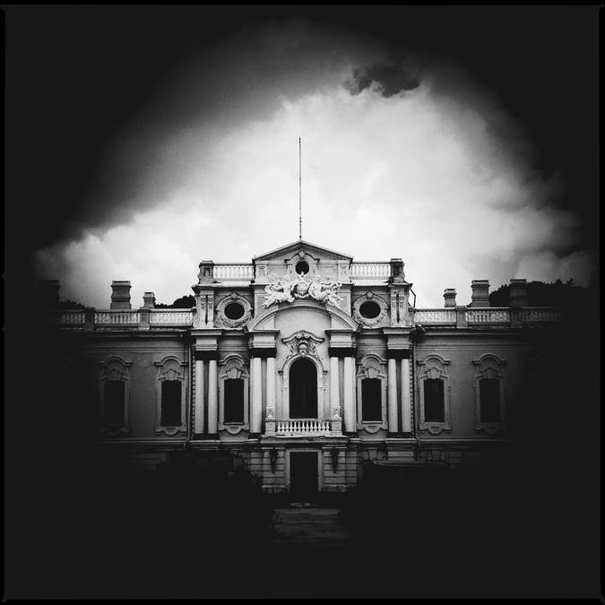 Фасад Мариинского дворца (Mariinsky Palace)