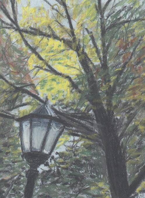 Осенний фонарь
