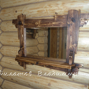 Рамки для зеркала из дерева своими руками