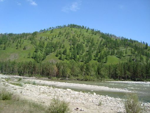 гора Аделаида,река Иркут(июль2009)