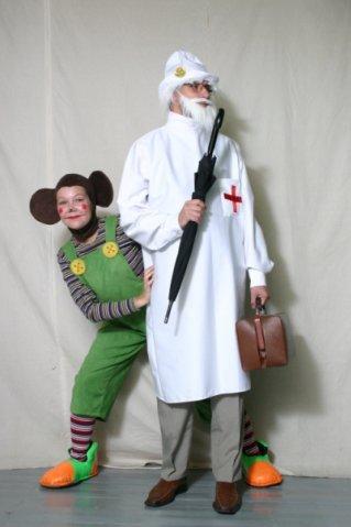 Айболит и обезьянка Чичи