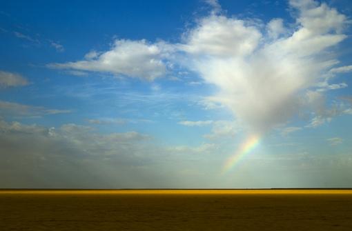 Радуга над Сахарой