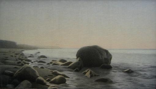 На Балтике, х-акрил