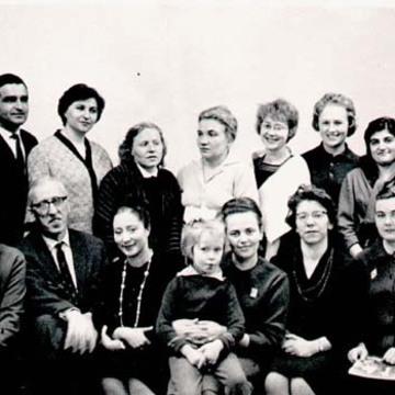 ЛЕОНАРДА БРУШТЕЙН жизнь в фотографиях Leonarda Brushteyn 1935-1999