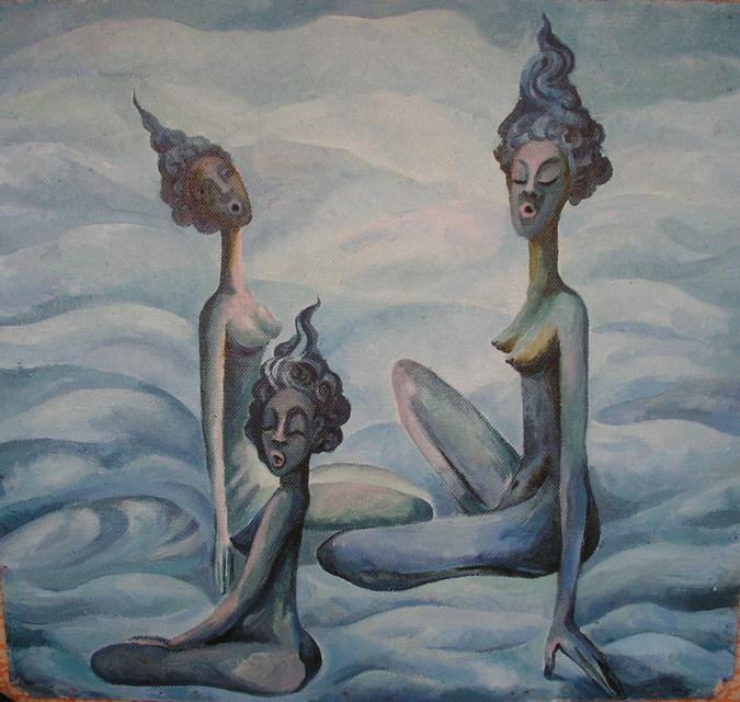 Люди-жирафы. Заклинатели Дождя. 2005г.