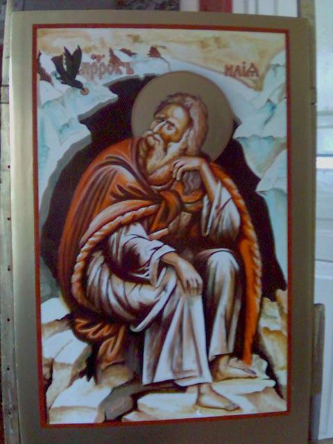 Пророк Илья в пустыне