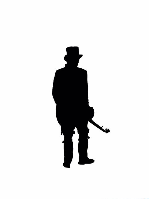 музыкант в шляпе
