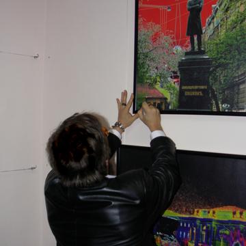 Фото с выставки Официальная страница Бориса Гребенщикова