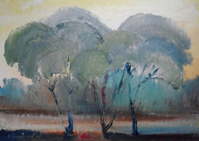 Деревья.Этюд
