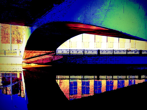Мост над яузой