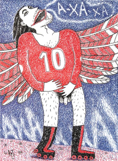 Ангел на роликах