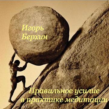 Правильное усилие в практике медитации Игорь Берхин
