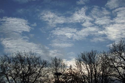 Небо над Амстердамом