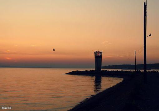 маяк в Горьковском море